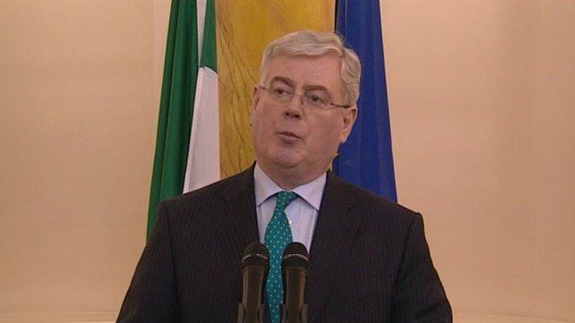 Eamon Gilmore said further militarisation was not the way forward
