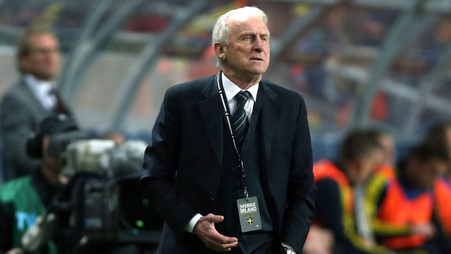 Giovanni Trapattoni: 'We can have a dream to qualify for Brazil.'