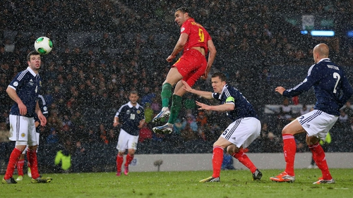 Hal Robson-Kanu scores the winner for Wales