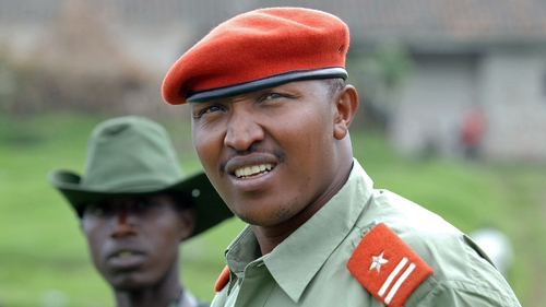 "Bosco Ntaganda Congolese warlord is known as ""the Terminator"" and is accused of murder, rape and other atrocities."