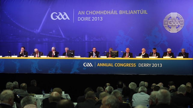 GAA Congress sitting in Derry