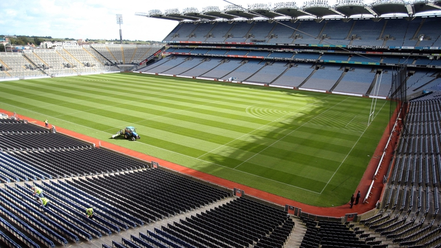 Croke Park and other GAA stadia will be available for the 2023 or 2027 Rugby World Cups - if either is staged in Ireland