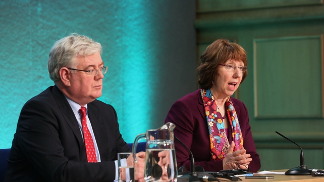 Catherine Ashton said there was a sense of urgency among EU leaders about need for progress on Syria