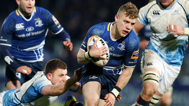 Ian Madigan scored all of Leinster's 22 points against Glasgow