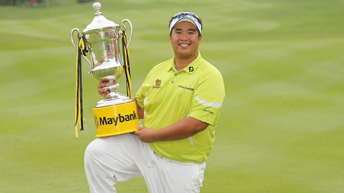 Thailand's Kiradech Aphibarnrat secured his first Euro Tour title