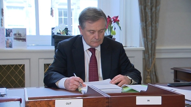 Brendan Howlin said no decision had yet been made