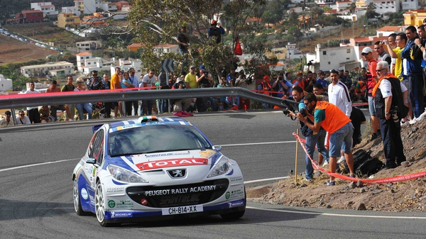 Craig Breen in action in the Canary Islands