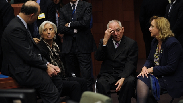 International Monetary Fund Managing Director Christine Lagarde is involved in the talks
