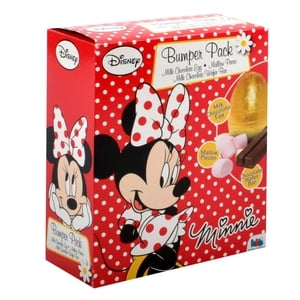 Minnie Mouse bumper pack, €2.50, available from Heatons