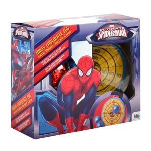 Spiderman premium egg, €8, available from Heatons