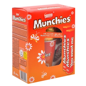 Munchies egg with mug, €8, available from Heatons