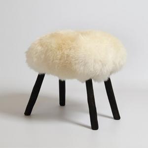 James Caroll Sheep skin stool €295