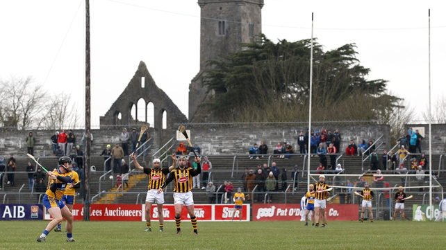 Clare gave Kilkenny a scare but lost by a single point