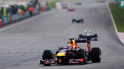 Webber furious after incident at end of Malaysian Grand Prix