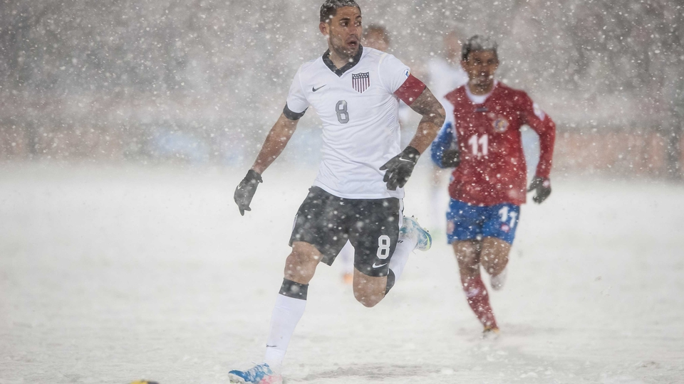 Clint Dempsey was in action for the United States