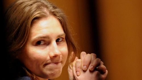 Amanda Knox denies any involvement in the death of Meredith Kercher