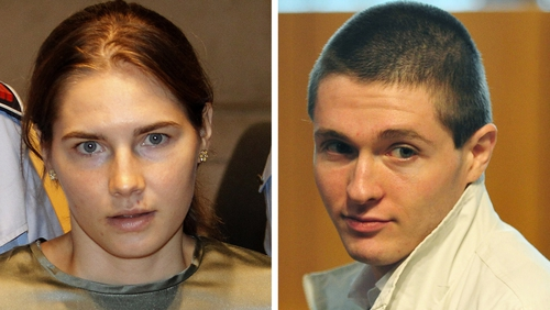 Amanda Knox and Rafaelle Sollecito served four years in prison before their convictions were overturned