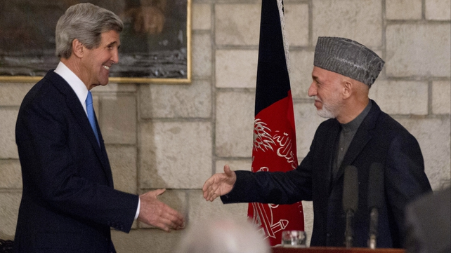 President Karzai is due to travel to Qatar within days to discuss the peace process