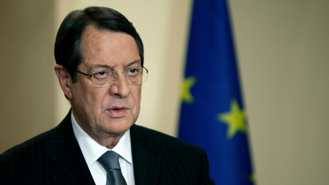 President Nicos Anastasiades has agreed to close down the second-largest bank, Cyprus Popular, and inflict heavy losses on big depositors