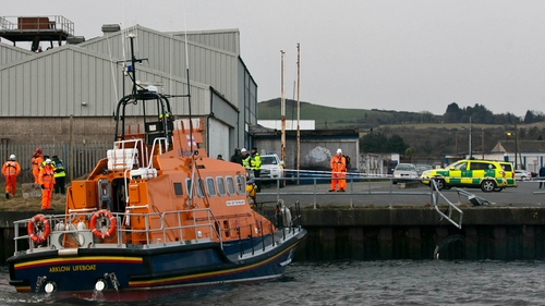 Lifeboat was called to the scene in Arklow (Pic: Garry O'Neill)