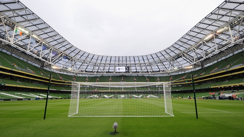 Aviva Stadium is in the running to host a Euro 2020 game