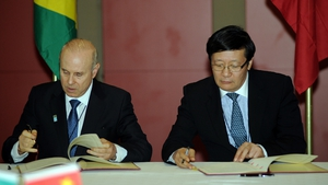 China and Brazil signed the deal ahead of the latest BRICS summit in South Africa