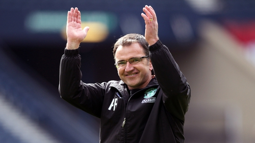 Pat Fenlon's side could face Drogheda or Malmo of Sweden