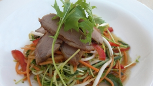 A great starter or buffet option, from Donal Skehan's Kitchen Hero series, Donal Skehan's Open Aromatic Duck Salad