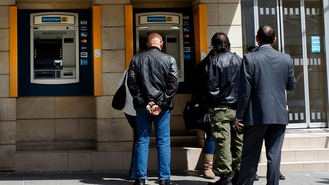 Cyprus's economy was hit hard by the restructuring of its once oversized banking sector