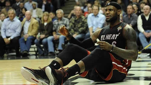 LeBron James' and Miami Heat brought back down to earth by Houston