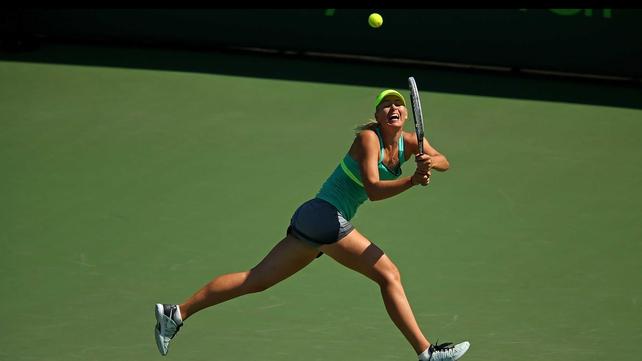 Maria Sharapova will meet Jelena Jankovic next