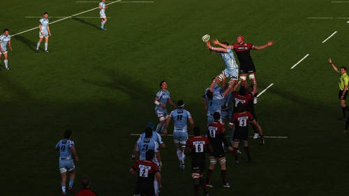The pitch at Saracens' Allianz Park has impressed Cardiff Blues chiefs