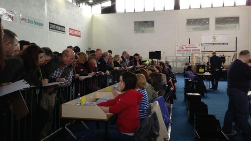 The quota is 12,155 votes (Pic: Sharon Gaffney)