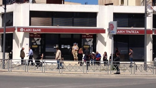 The aid was conditional on Cyprus winding down Laiki, its second-largest bank