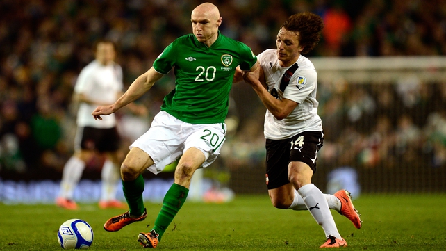 Conor Sammon was pleased with his perfor