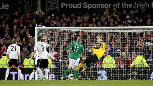 Ireland concede the late equaliser against Austria