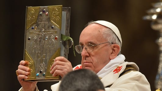 Did Pope Francis perform an exorcism?