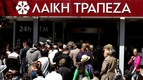 Banks in Cyprus reopened to relative calm on Thursday