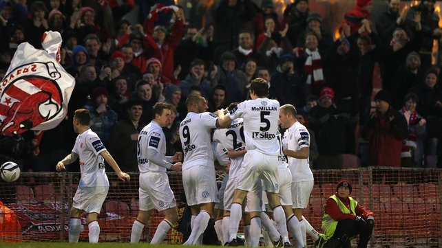 Sligo Rovers gave a confident and composed performance against their Dublin rivals