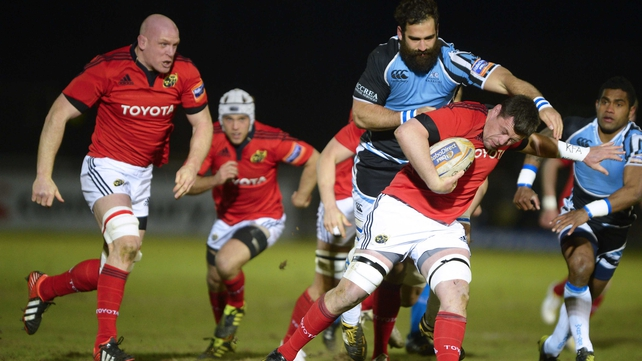 Munster's chance of making the play-offs have been dented following this latest reverse