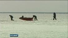 Over 200 people rescued from ice floes off Latvia