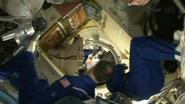 Astronauts Chris Cassidy and Tom Marshburn fixed the leak during a 5.5-hour spacewalk