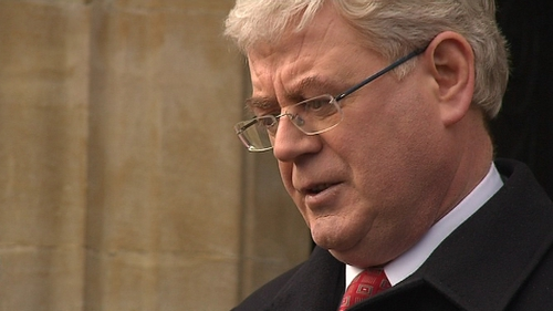 Eamon Gilmore said he regretted that the negotiation process had been cancelled