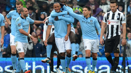 Vincent Kompany is sticking with Manchester City