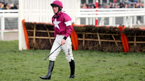 Davy Russell will ride at Fairyhouse but cannot ride at Aintree