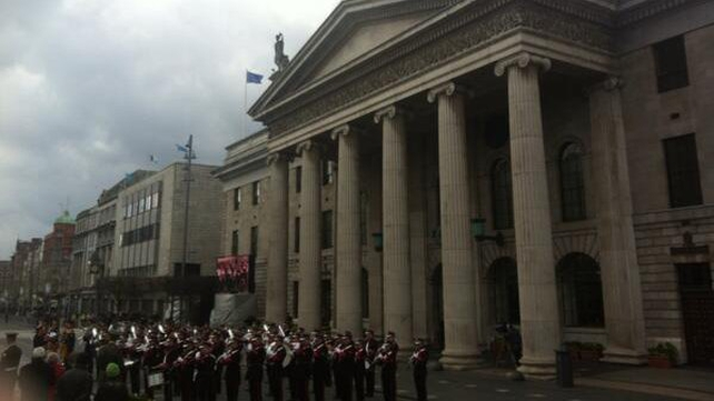 1916 Easter Rising was commemorated at the GPO in Dublin