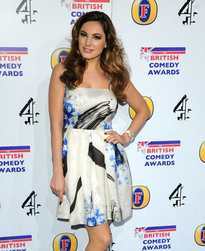 Men prefer the likes of Kelly Brook than blondes such as Holly Willoughby when it comes to marriage