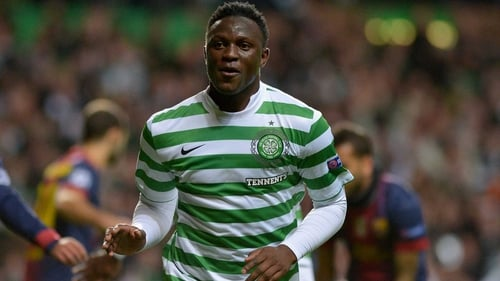 Victor Wanyama saw red against St Mirren