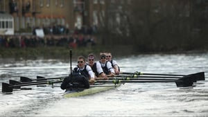 Oxford claimed the Annual Boat race  against Cambridge in London