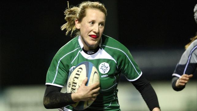 Try scorer Jeannette Feighery